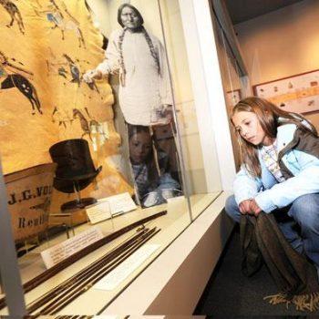 Finding Relatives - Little Big Horn Museum Sitting Bull Exhibit - Mat McLachlan Battle Tours