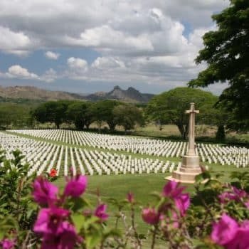 Bomana War Cemetery - Trek Kokoda Tour