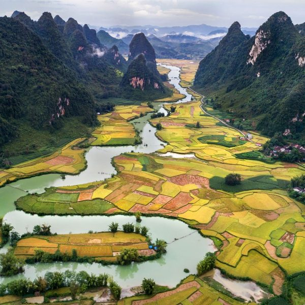 Rice Paddy, Cao Bang Vietnam - Vietnam Revealed